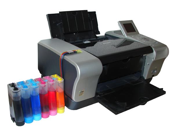 Система непрерывной подачи чернил для принтера canon